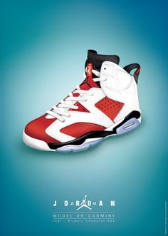 Dessin Nike Air Jordan VI Carmine on Behance New Sneakers, Sneakers Fashion, Sneakers Nike, Air Jordan Vi, Air Jordan Shoes, Jordan 23, Shoes Ads, Hype Shoes, Jordan Retro 6