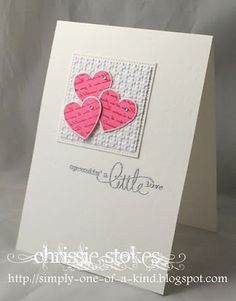 Simply One of a Kind: Kissing Technique Love Valentines, Valentine Day Cards, Valentine Ideas, Kissing Technique, Heart Cards, Punch Art, Card Sketches, Cool Cards, Wedding Anniversary