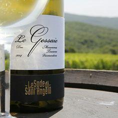 Le Gessaie DOC Maremma Toscana. Vermentino wine by Sodesantangelo winery. Elegance in a bottle
