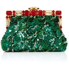 Dolce & Gabbana Embellished Rose Clutch with Chain Strap (€4.590) ❤ liked on Polyvore featuring bags, handbags, clutches, dolce gabbana purse, rosette handbag, chain handle handbags, chain strap handbag and rose purse