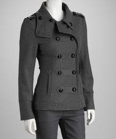 Gray Military Coat