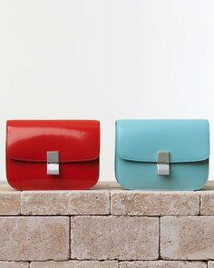 Luscious Red Box Bag and Azur Blue Box Bag.. - TDF!!