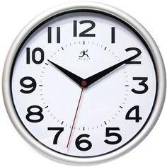 #Staples: Infinity Instruments Wall Clock (various colors) $5 http://www.lavahotdeals.com/us/cheap/infinity-instruments-wall-clock-colors-5/48480