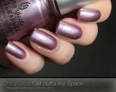 China Glaze - Get Outta My Space