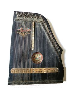 Mecox Gardens - Antique Musical Instruments on Stand Detail ...