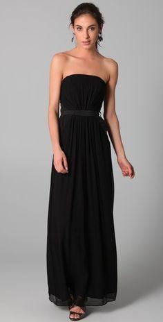 Zimmermann  Zimmermann Ruched Maxi Dress $426//  black bag  // silver ewellry