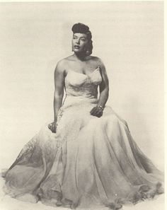 "Billie Holiday in a portrait titled ""Lady Day as Harlem Royalty"" taken in 1942 by Marvin and Morgan Smith. During this time she was deemed Lady Day and the Queen of Song. #coolphotooftheday"