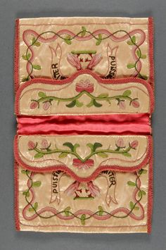 Philadelphia Museum of Art - Collections Object : Pocketbook, French, 19th century