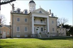 Hampton Mansion, home to the RIdgely Family, was the largest private home in America when it was completed in 1790 and today is considered to be one of the finest examples of Georgian architecture in the U.S.