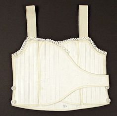 Corset, possibly for a girl--no date