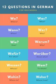 12 Questions in German