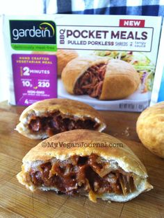 @gardein  pulled porkless pocket meals made the Top 10 Vegan List at the Natural Products Expo West! #MyVeganJournal