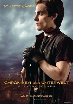 "Charakterposter ""Schattenjäger""  - Chroniken der Unterwelt - City of Bones - Ab 29.August 2013 im Kino!"