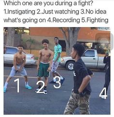 I was number 3, but back in my savage high school 1, 4, and 5 would happen a lot