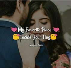 My favorite place Inside you 🤗 Love Picture Quotes, Couples Quotes Love, Love Husband Quotes, Love Quotes For Boyfriend, Love Quotes For Her, Couple Quotes, Love Romantic Poetry, Romantic Love Quotes, Relationship Quotes