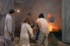 Fire on The Waltons