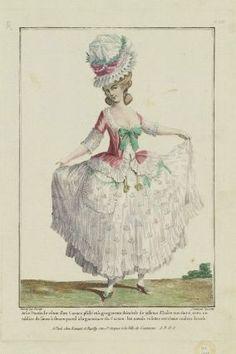 Gallerie des Modes et Costumes Français. Camisole a la polonaise. Elisa  Righi · Pierrot e Caraco 5b8b346d3824