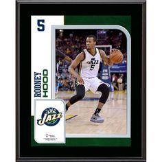 "Rodney Hood Utah Jazz Fanatics Authentic 10.5"" x 13"" Sublimated Player Plaque - $29.99"