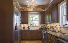 405 South Street in Key West is an elegant historic home with views of the Southernmost Point.  We love the beautiful custom kitchen.