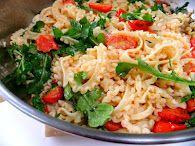 PROUD ITALIAN COOK: Caprese Ravioli with Roasted Tomato Pesto Sauce