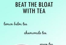 BEST TEAS TO HELP WITH BLOATING