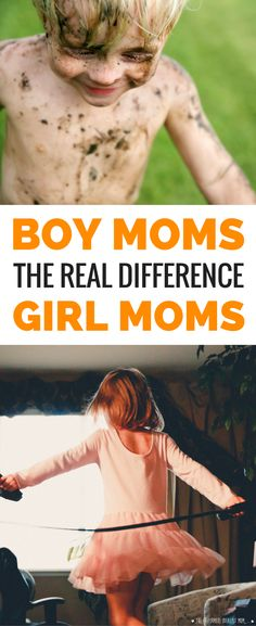 Boy moms and girl moms, this is a MUST read! Here's the most important difference when it comes to raising boys or raising girls.
