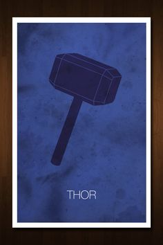 #Thor #Avenger Art Print - Poster Inspired by the Comic Book and Film 'The Avengers'