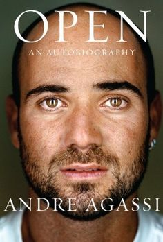 Open by Andre Agassi Take a look into the life of Andre Agassi. Open, an autobiography by Andre Agassi, expresses his bittersweet encounters in the tennis world and his life in general. Free Books, Good Books, Books To Read, My Books, Jim Courier, Martin Schoeller, Steffi Graf, Us Open, Dan Brown