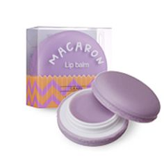 IT'S SKIN] Macaron Lip Balm 9g #3 Grape / Sweet & Moist Lip Balm