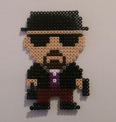 Perler Bead Heisenberg (Breaking Bad) by NerdyCompanions