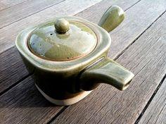 Earthenware Tea Pot with Handle