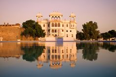 Experience the stunning countryside of Rajasthan as you set each day form the comfort of Talabgaon Castle. Offering all the Luxuries of a world class Hotel huddled in the timeless, untouched nature and see the traditional way of life in a village firsthand. Savor live Rajasthani music in an enchanting Castle courtyard at Sunset.