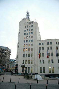 Palatul Telefoanelor, 1931-33, calea victoriei, Edmond Van Saanen Algi