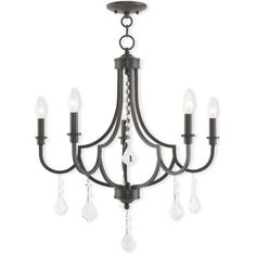 Electra 5-Light Candle-Style Chandelier