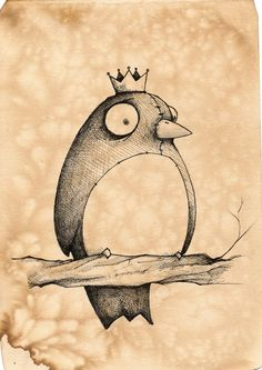 Dwight:the bird King by UMINGA.deviantart.com on @deviantART