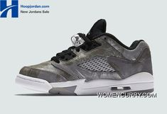 "bdcc1157b2cabb   All Star"" Air Jordan 5 Low GS Cool Grey Wolf Grey-White-Black Online"