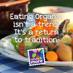 #natureandmore #organic #health #food #trend #tradition