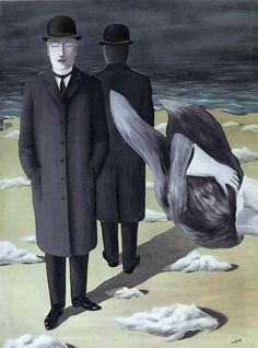 Rene Magritte (The meaning of night, 1927)