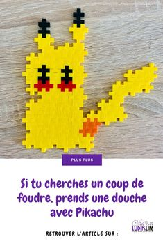 Si tu cherches un coup de foudre, prends une douche avec Pikachu