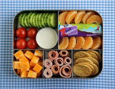Have you made bento box lunches for your kids? It's a great way to get a lot of variety in their lunch!
