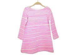 Neon Pink Stripe Dress