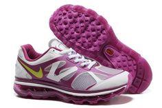 new style d280f f8562 Aime le violetMeilleur Respirant Air Max 2012 En Ligne Violet Jaune Blanc Chaussures  De Dame sur