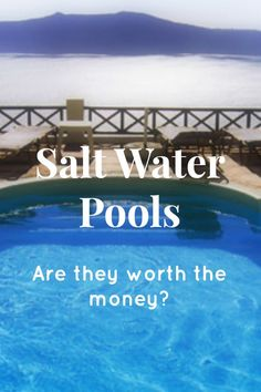Are you interested in getting a salt water sanitzation system added to your pool or hot tub? Do you have a salt water system already and want to know how to properly maintain it? Learn all about salt water; how it works, the benefits and downsides, and, most importantly, is it worth the money?