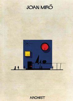 Como seria uma casa desenhada por Dalí, Miró, Haring ou Warhol? - Observador