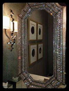 Swarovski mirror so beautiful