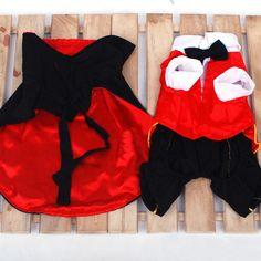 Vampire Cloak Halloween Coplay Costume Pet Dog Clothe