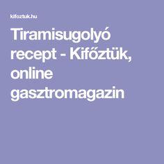 Tiramisugolyó recept - Kifőztük, online gasztromagazin