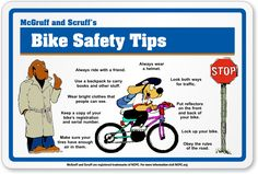 Image detail for -Keeping it Simple (KISBYTO): Top 10 Bike Safety Tips [Top safety tips for biking - BN] Health Fair, Health Class, Health Lessons, Preschool Lessons, Preschool Activities, Bicycle Safety, Bike, Teaching Safety, Camping First Aid Kit