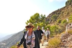 Walking the silk trail from Competa to Granada