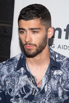 Zayn Malik's hair length tends to change from month to month but he's always rocking some type of fade on the sides....